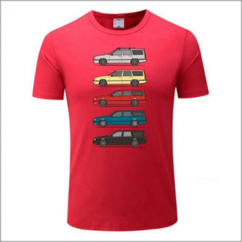 Volvo 850 T-shirt - RED