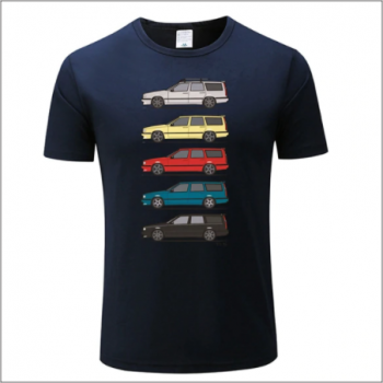 Volvo 850 T-shirt - Dark BLUE