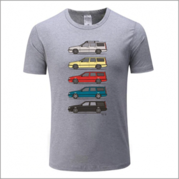 Volvo 850 T-shirt - Light GREY