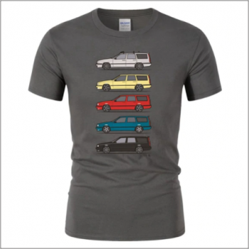 Volvo 850 T-shirt - Dark GREY