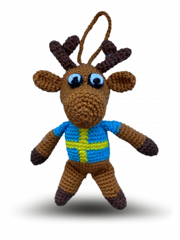 Handmade Moose friend