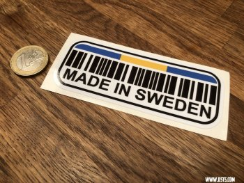 Made in SWEDEN - Sticker
